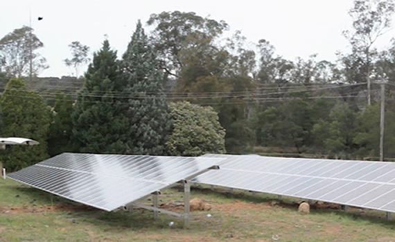 Solar Panel Installation On Mushroom Enterprise