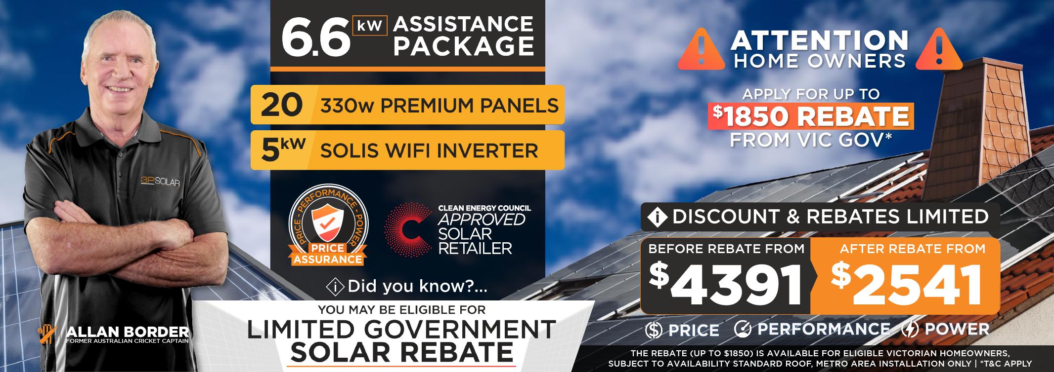 Offer in Solar Panel