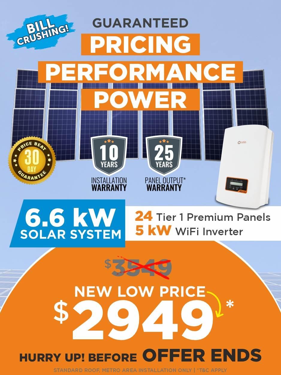 Solar Panel Offer At Western Australia