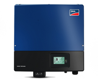 SMA Solar Panel Inverter With Monitoring and Reporting Feature